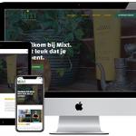 Nieuwe website voor Mixt